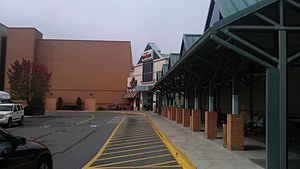 Logan Valley Mall - The Amtran Bus station and Mall Main Entrance