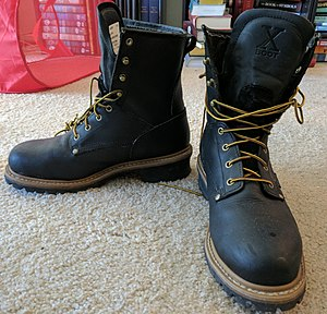 Caulk boots - Image: Logger Boots