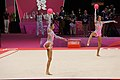 London 2012 Rhythmic Gymnastics - Russia Team 02.jpg