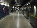 London Bridge tube stn Jubilee westbound look east.JPG