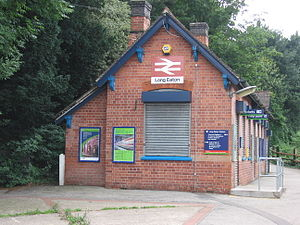 Long Eaton railway station - The station building