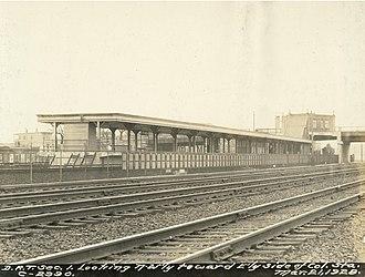 JFK/UMass (MBTA station) - Columbia station in March 1928