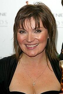 Lorraine Kelly British presenter and journalist