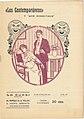 Los Contemporáneos, Lo Cursi, June 1913, nº 233, cover by Mariano Pedrero.jpg