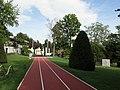 Losanna, museo olimpico, ext., parco 02.JPG