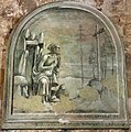 Luca signorelli (attr., molto restaurato), san girolamo offerto da francesco boninsegni, 1491.JPG