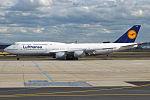 Lufthansa, D-ABYR, Boeing 747-830 (19729747554).jpg