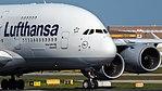 Lufthansa Airbus A380-841 (D-AIMK) at Frankfurt Airport.jpg
