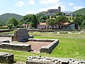 Lugdunum Convenarum-thermes forum.JPG