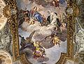 Luigi garzi, gloria di santa caterina e virtù, 04.JPG