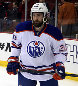 Description de l'image Luke Gazdic - Edmonton Oilers.jpg.
