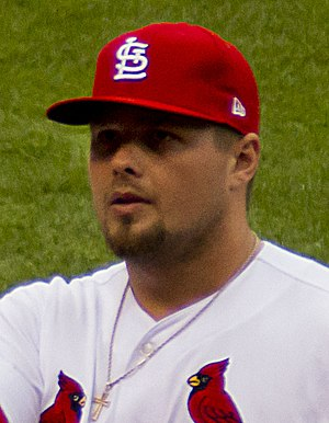 Luke Voit - Voit with the St. Louis Cardinals in 2017