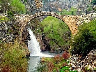 Uşak Province - Image: Lydian Cilandiras Bridge Karahalli Usak Province Turkey