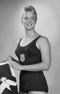 Lynn Burke American swimmer