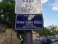 Lyon 8e - Rue Capitaine Elisabeth Boselli - Plaque (mai 2019).jpg