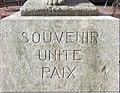Lyon 9e - Sculpture Souvenir Unité Paix de Georges Salendre (fév 2019).jpg