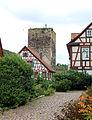 Mönsheim Bergfried der ehemaligen Diepoldsburg.JPG