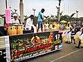 Músics de l'Asociación Cultural Afro Chincha Perú durant el Festichincha03.jpg