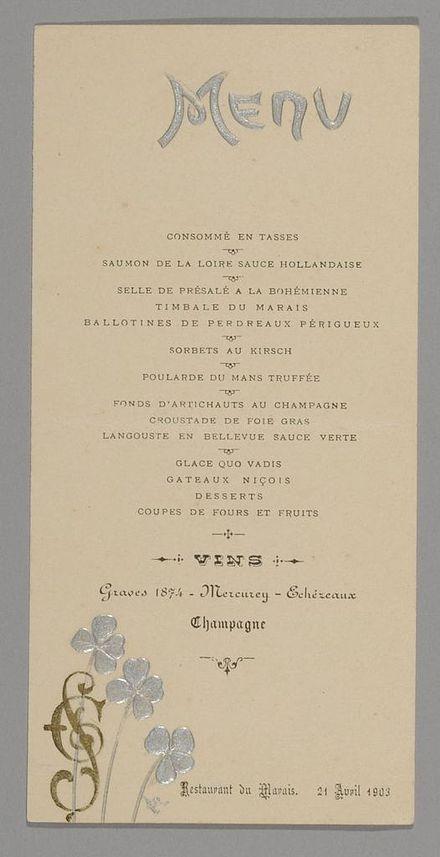 repas de mariage clbr en 1903 collection muses dpartementaux de la haute sane - Thankyou Liste De Mariage