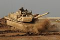 M1 Abrams training in Iraq (original).jpg