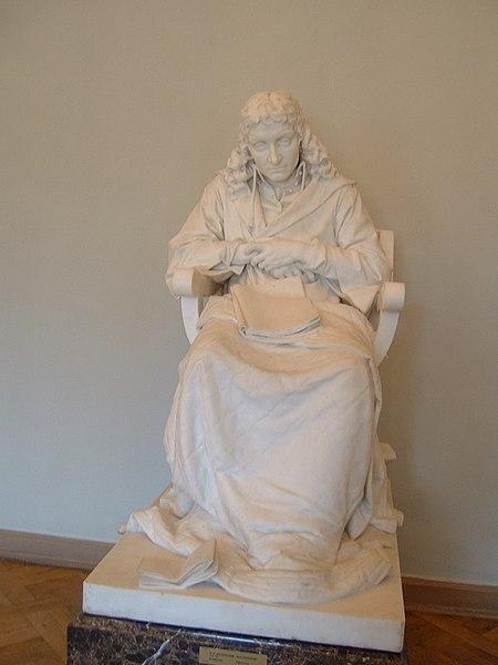 Spinoza van beeldhouwer Mark Antokolsky