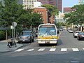 MBTA route 68 bus on Amherst Street (1), September 2015.JPG