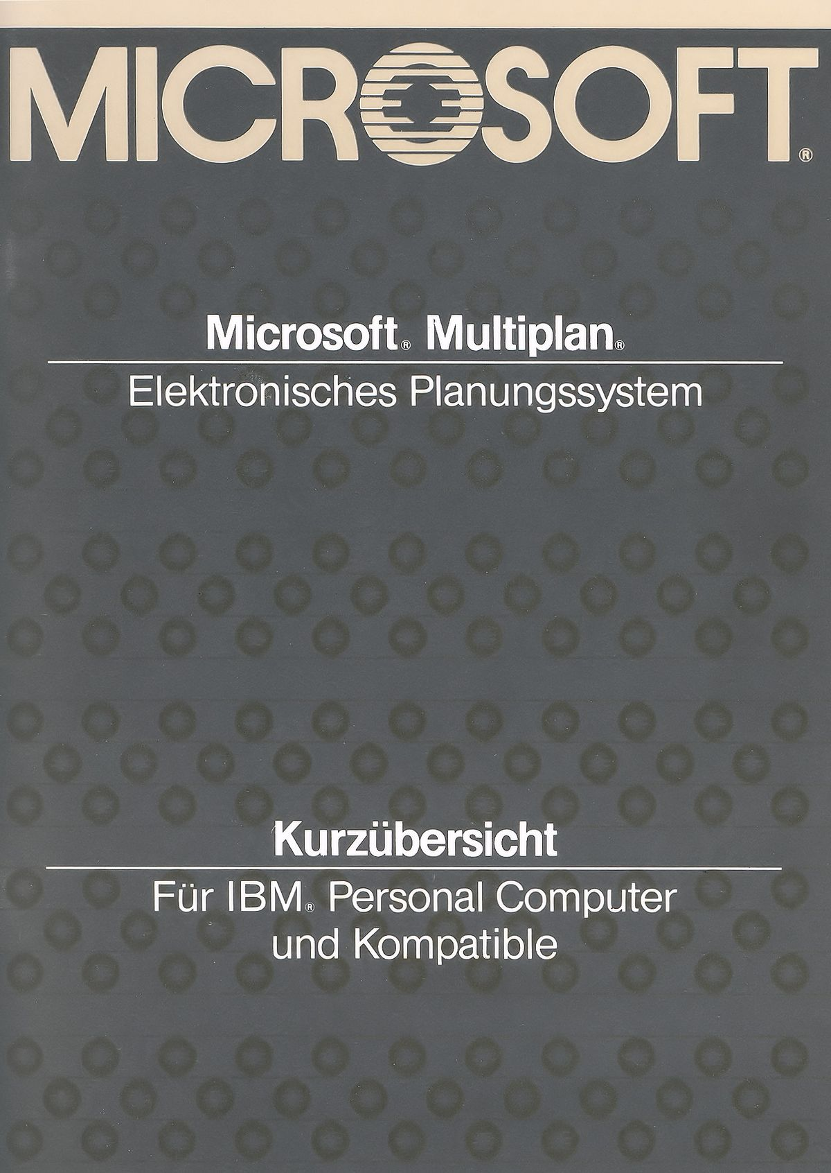 Microsoft Multiplan Wikipedia