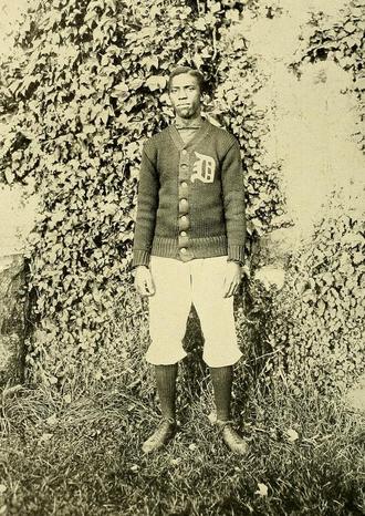 Matthew W. Bullock - Bullock pictured in The Index 1909, UMass yearbook