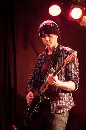 Mads Eriksen (musician) - Eriksen at Rootsfestivalen  in Brønnøysund 2008.