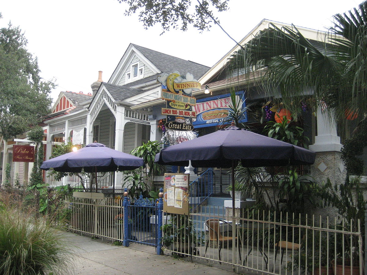New orleans uptown travel guide at wikivoyage for Magazine street new orleans shopping guide