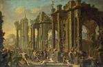 Magnasco, Alessandro and Spera, Clemente - Bacchanalian Scene - 1710s.PNG