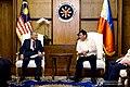 Mahathir and Duterte bilateral meeting.jpg