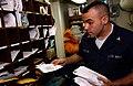 Mailroom at cruiser USS Normandy.jpg