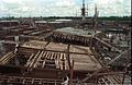 Main Auditorium Under Construction - Convention Centre Complex - Science City - Calcutta 1994-10-07 1058.jpg