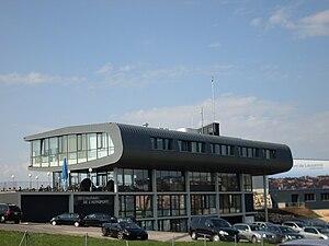 Lausanne Airport - Image: Main Building Lausanne Airport 1