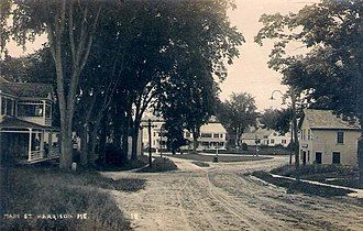 Harrison, Maine - Image: Main Street, Harrison, ME