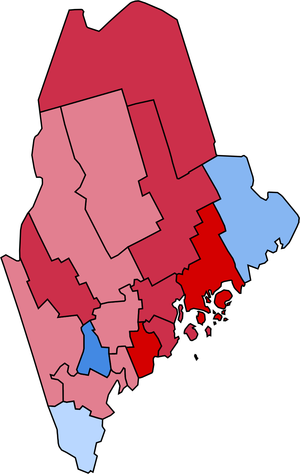 United States presidential election in Maine, 1936 - Image: Maine 1936