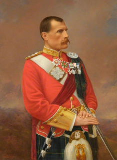 Hector MacDonald British Army general from the Black Isle, Scotland
