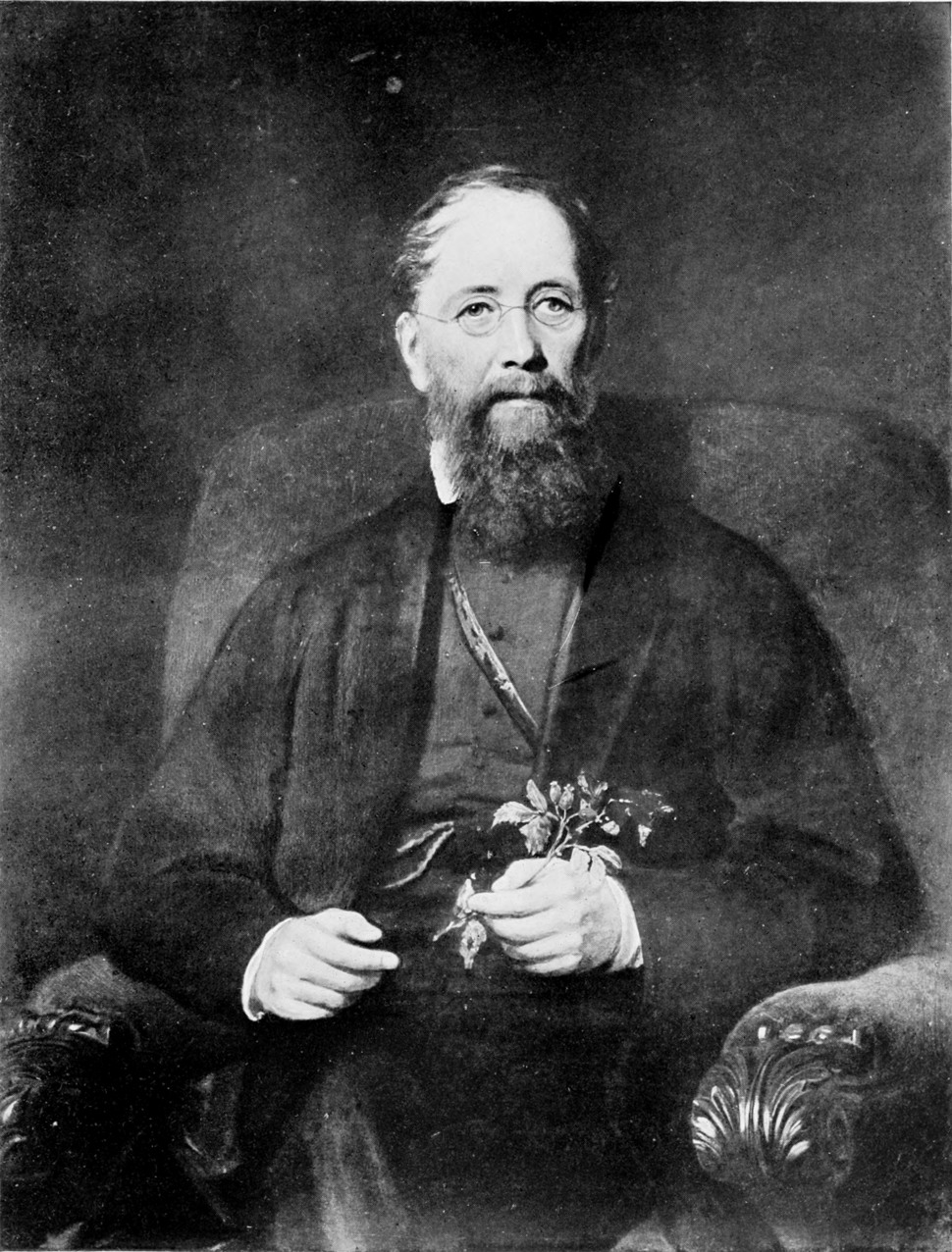 Portrait of John Lindley c. 1865