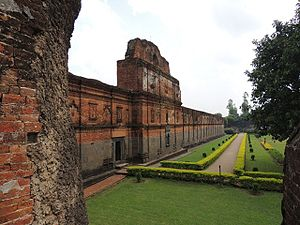 Bengal Sultanate - The Adina Mosque was built by Sikandar Shah
