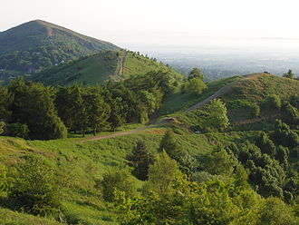 White Mountains (Middle-earth) - View of the Malvern Hills