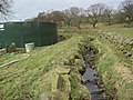 Man Made Water Course at Woodhall Farm - geograph.org.uk - 1774619.jpg