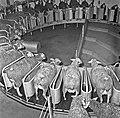 Manege de traite des brebis à Brouessy dans les années 60 CL Jean-Joseph Weber.jpg