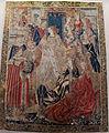 Manifattura fiamminga, arazzo con scena di corte, 1500-25 ca..JPG