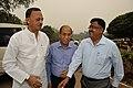 Manish Gupta with Emdadul Islam and Arijit Dutta Choudhury - MSE Golden Jubilee Celebration - Science City - Kolkata 2015-11-17 4905.JPG