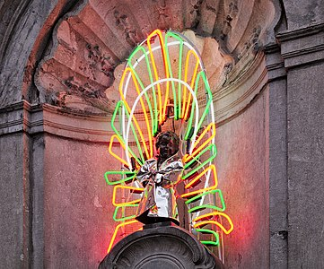Manneken-Pis' 1000th costume