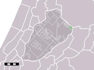 Nieuwe Meer - Image: Map NL Haarlemmermeer Nieuwe Meer