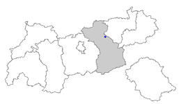 Location in Tyrol