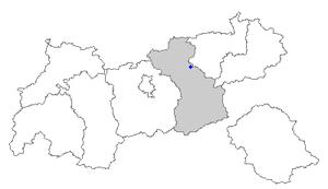 Jenbach - Image: Map at 7 jenbach