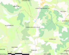 Map commune FR insee code 26105.png